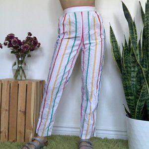 Vintage Candy Striped Pants